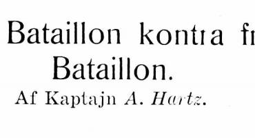 Dansk Bataillon kontra fransk Bataillon - 3