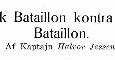 Dansk Bataillon kontra fransk Bataillon - 4